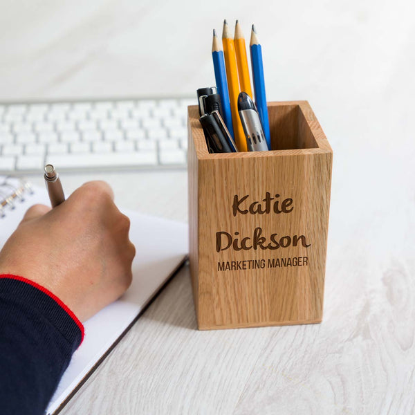 Personalised Corporate Pen Pot