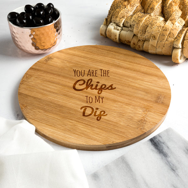 Bamboo Round Serving Board