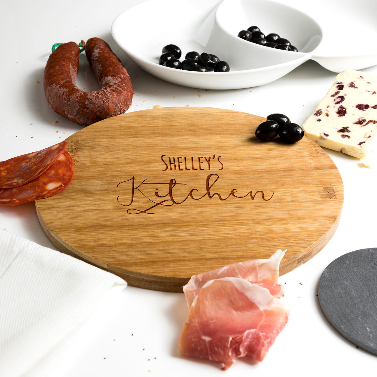 Personalised Chopping Board For Kitchen