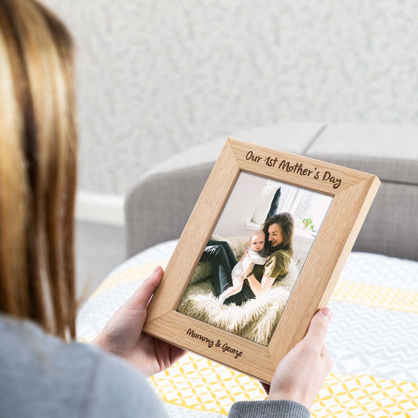 Personalised First Mothers Day Photo Frame