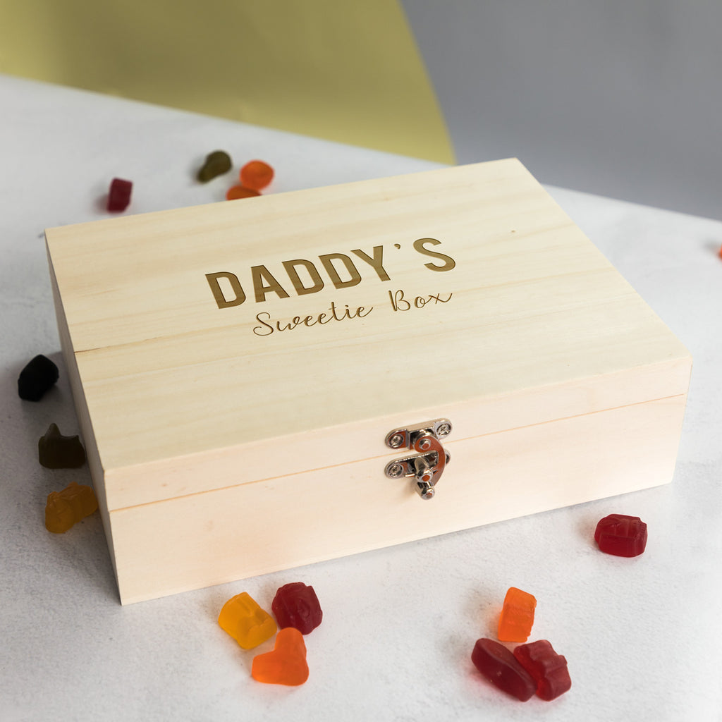 Personalised Sweet Box With 6 Compartments