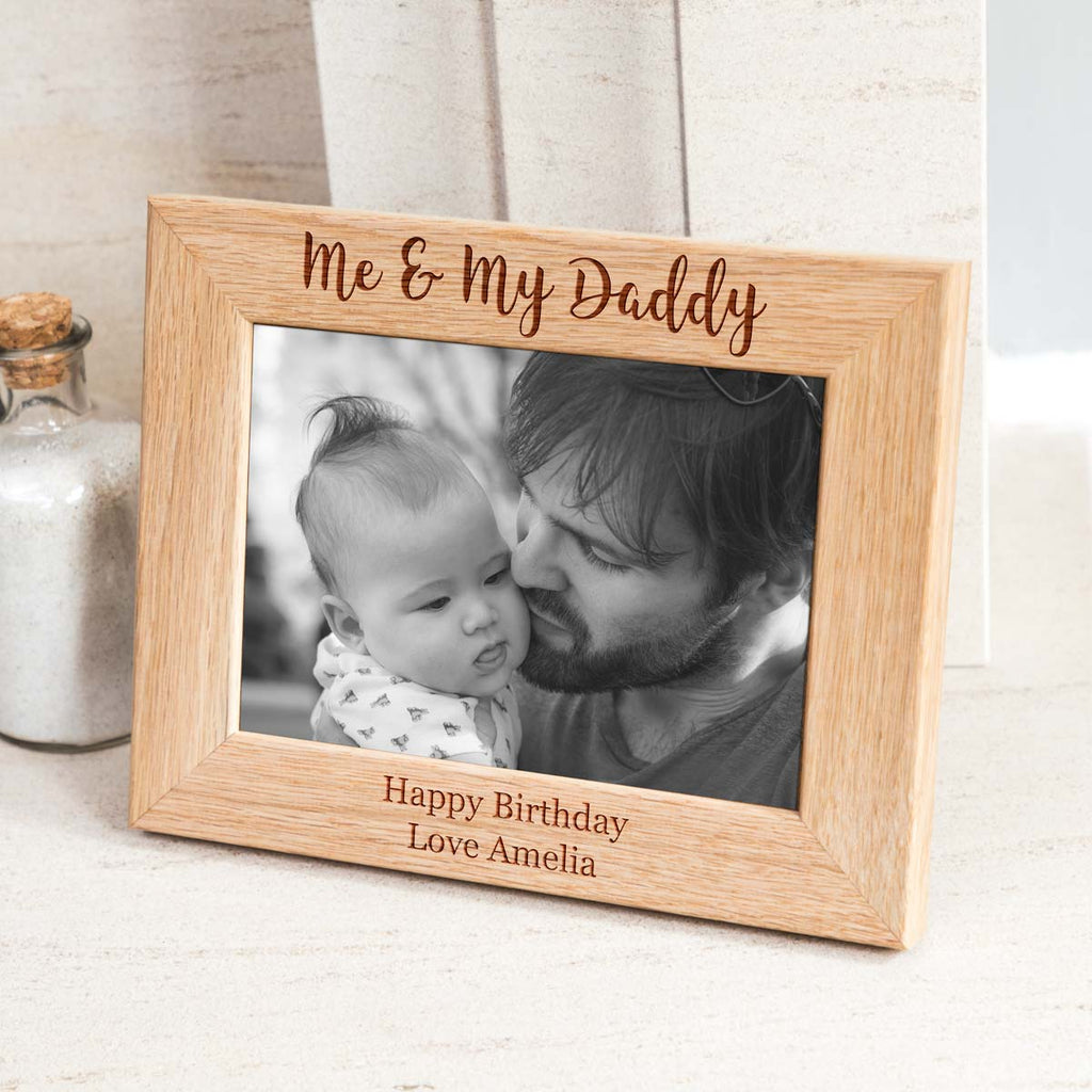 Personalised Gift For Daddy Photo Frame