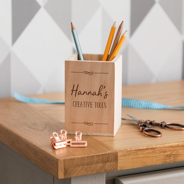 Personalised Creative Tools Pen Pot