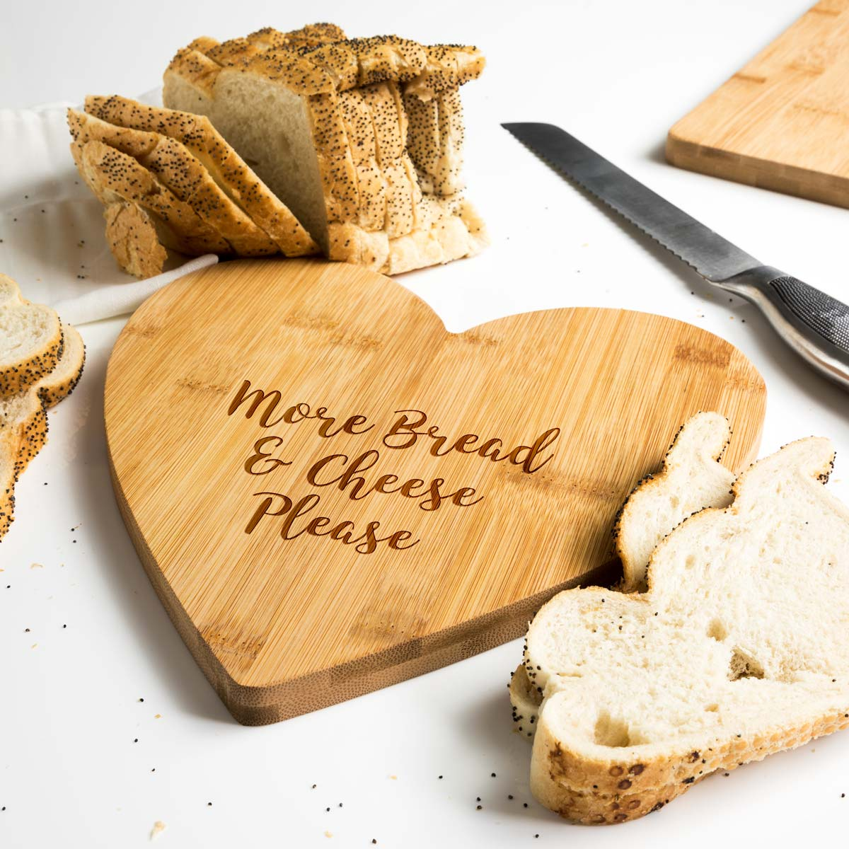 More Bread and Cheese Serving Board