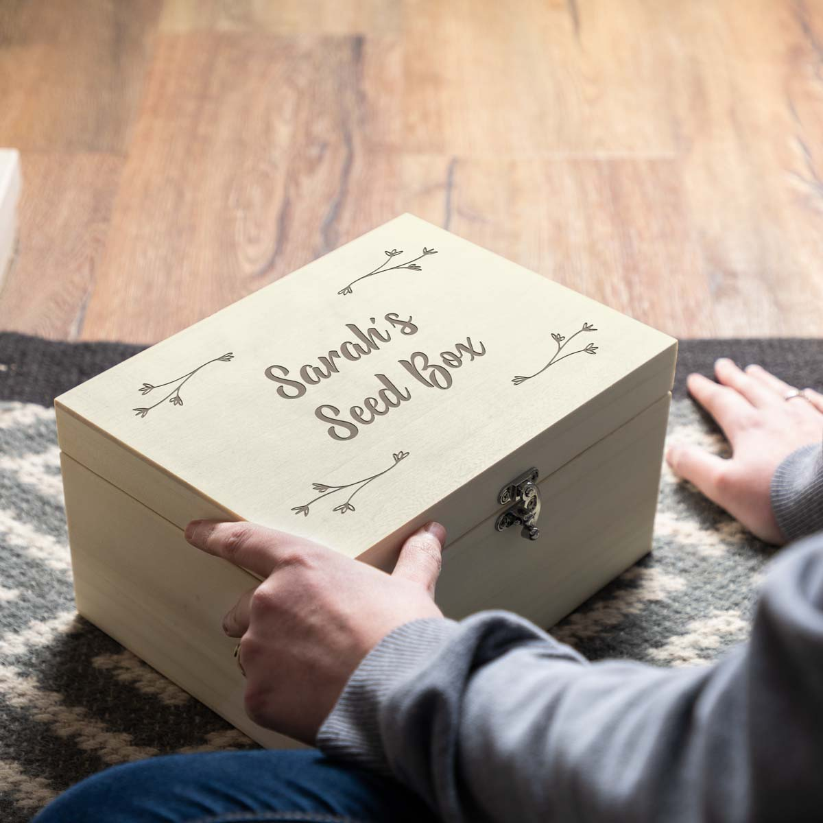Personalised Seed Box