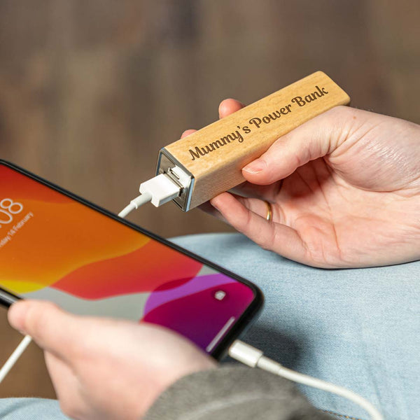 Personalised Power Bank For Smartphone and Tablet