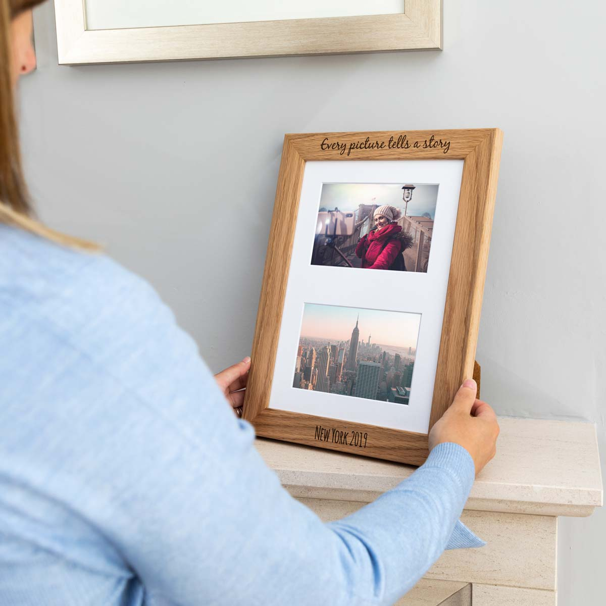 Personalised Every Picture Tells A Story Photo Frame