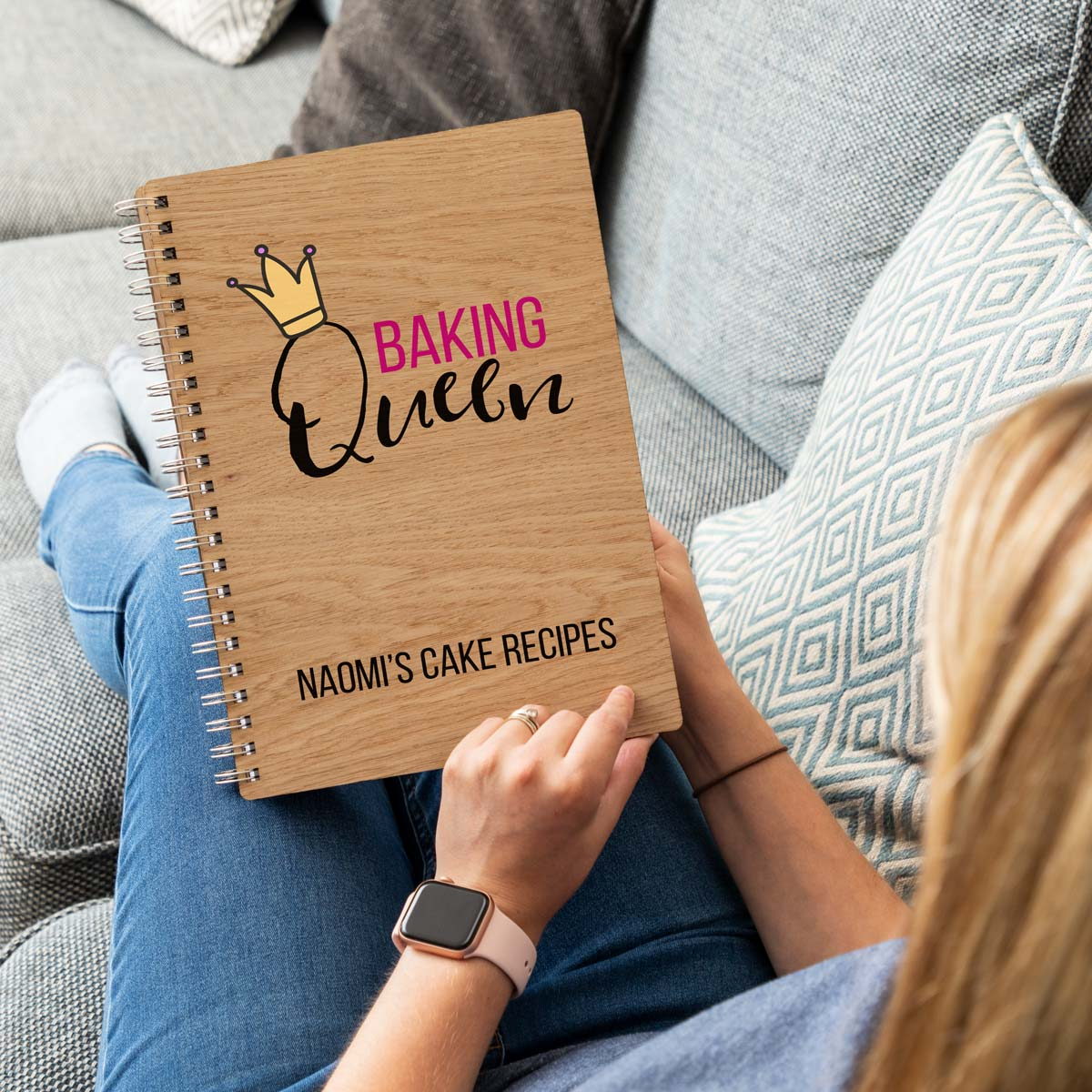 Personalised Recipe Book Gift For Bakers