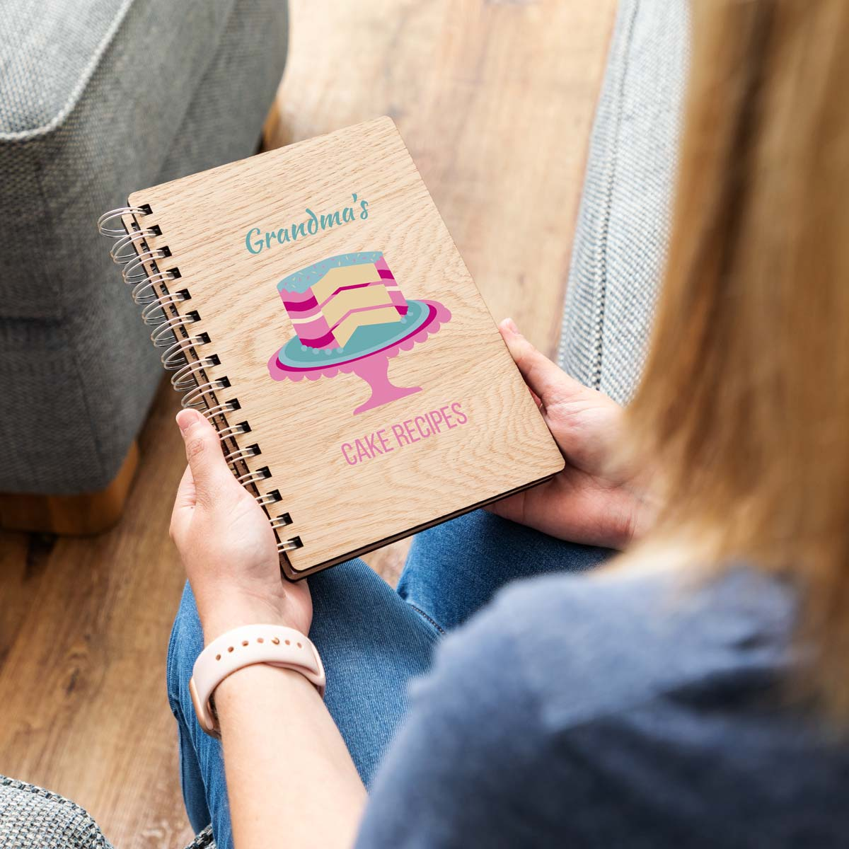 Personalised Cake Recipe Book Gift For Bakers