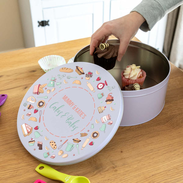 Personalised Cakes & Bakes Cake Tin
