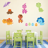 Baby Dinosaur Wall Art