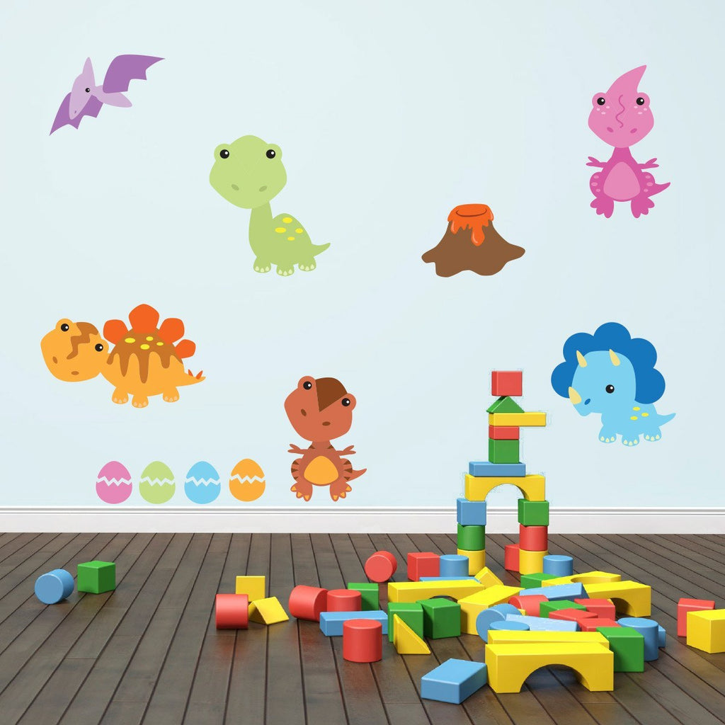 Baby Dinosaur Wall Decals