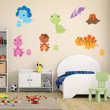 Baby Dinosaur Wall Stickers