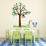 Boys Jungle Tree Wall Decal
