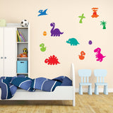 Bright Dinosaur Wall Decals