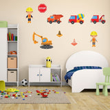 Building Site Wall Decals