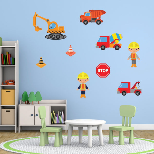 Building Site Wall Stickers