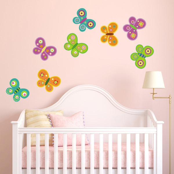 Butterfly Fabric Wall Sticker