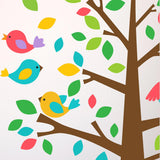 Childrens Nursery Tree With Owls Wall Decal