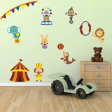 Childrens Circus Wall Decals