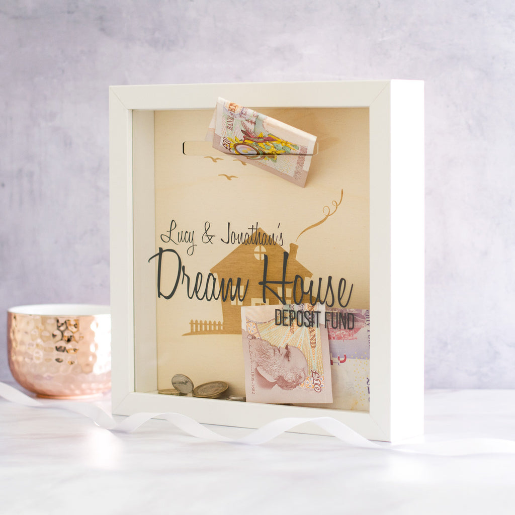 Dream House Fund Money Box Frame