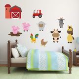 Farmyard Animal Wall Decals