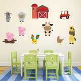 Farmyard Animal Wall Art