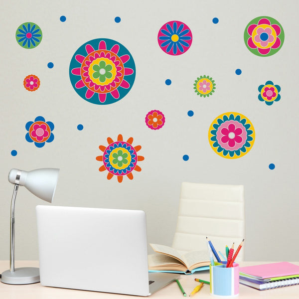 Floral Wall Stickers Pack