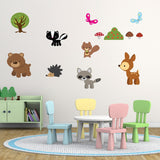 Forest Animal Wall Art Pack