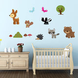 Forest Animal Wall Stickers Pack