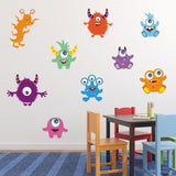 Friendly Monster Wall Decals