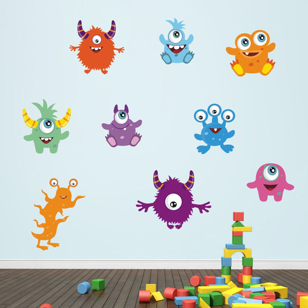 Friendly Monster Wall Stickers