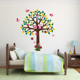 Girls Tree Wall Decal