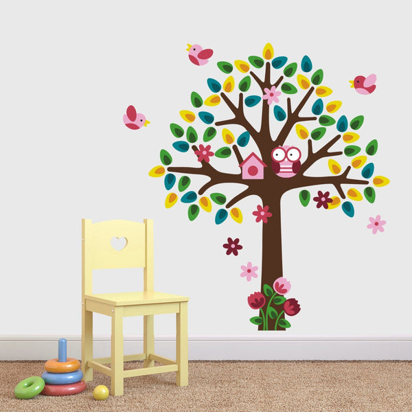 Girls Tree Wall Sticker