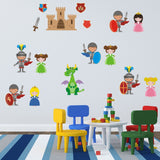 Knights and Princesses Wall Decals