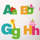Picture Alphabet Wall Transfers