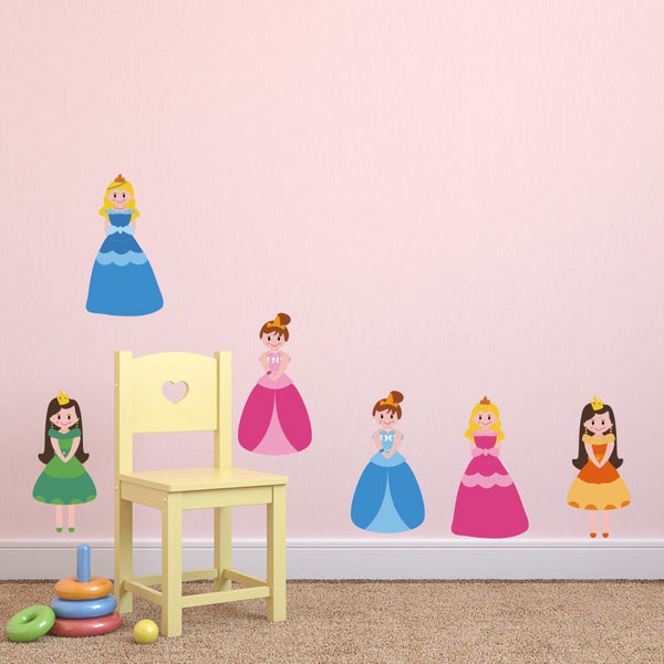 Pretty Princess Wall Stickers