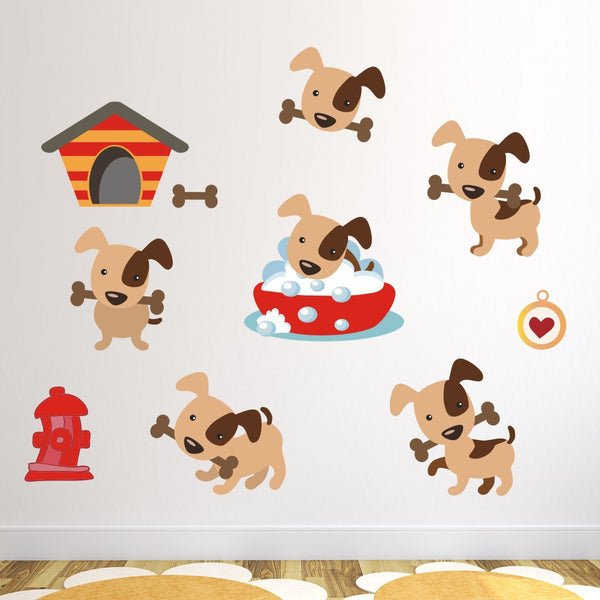 Puppy Dog Wall Stickers