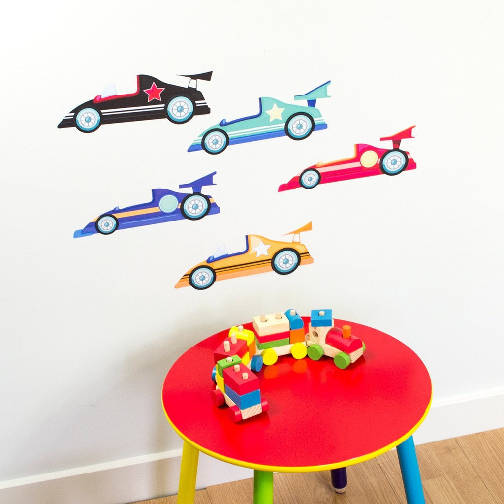 Racing Cars Wall Sticker