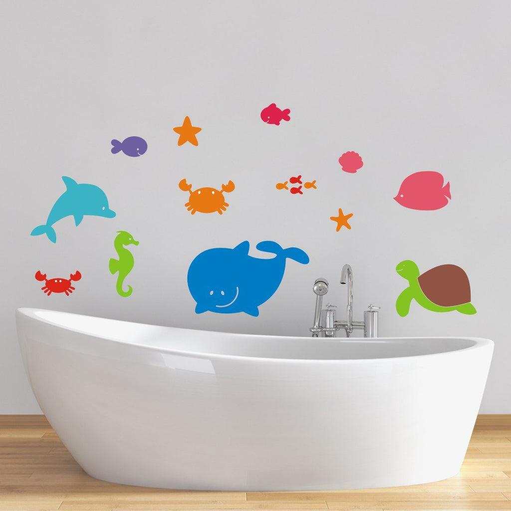 Sea Animal Wall Decals