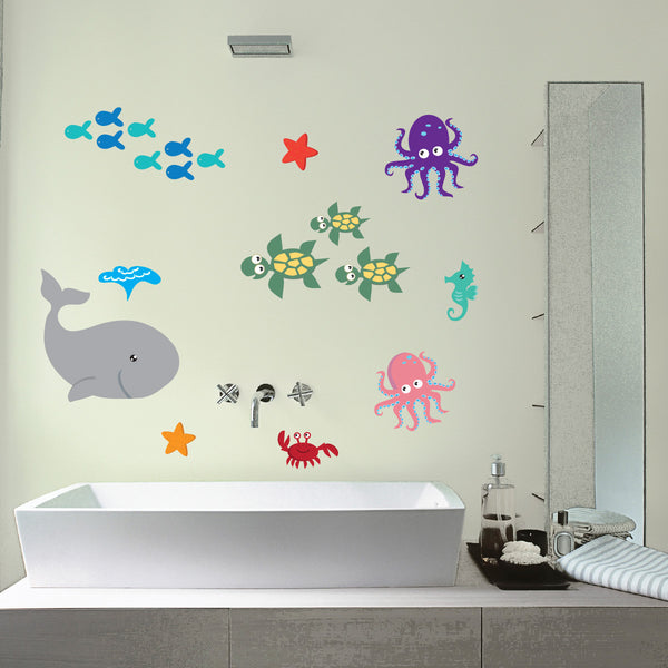 Sea Animal Wall Stickers