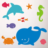 Sea Animal Wall Transfer