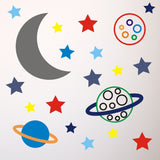Stars and Planets In Space Wall Transfer