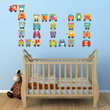 Alphabet Train Wall Decals