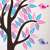 Tree With Rabbit, Squirrel and Birds Wall Transfer