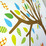Tree With Safari Animals Wall Transfer