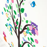 Tree With Woodland Animals Wall Transfer