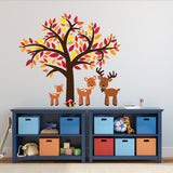 Tree With Woodland Deer Wall Decal