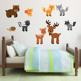 Woodland Animals Wall Art Pack