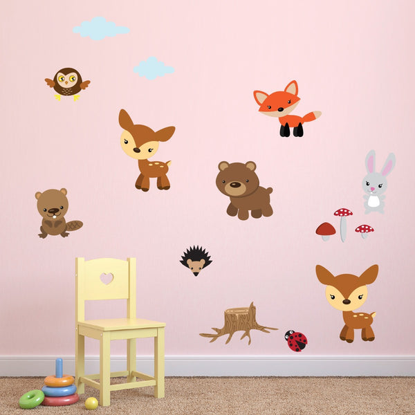 Woodland Nursery Wall Stickers